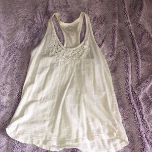 White tank top from Kohl's
